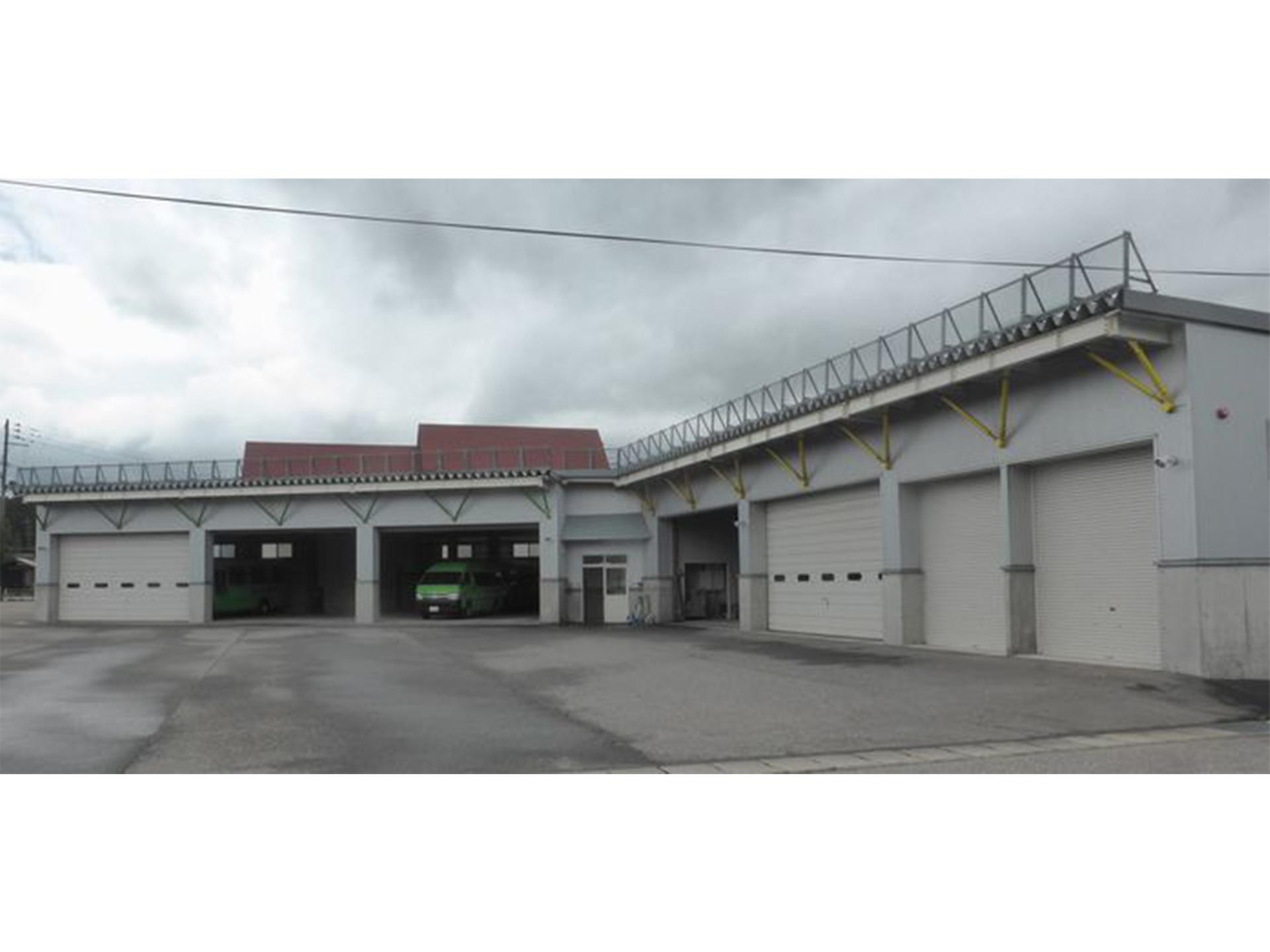 町営バス車庫